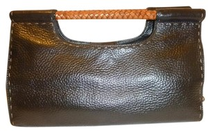 Fossil Refurbished Leather Satchel in Black