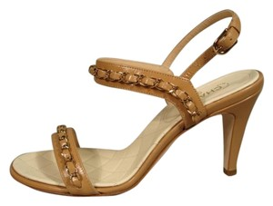 Chanel Classic Style New Beige Sandals