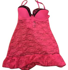 Lingerie Baby Doll Top Hot pink