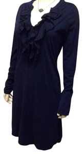 Velvet by Graham & Spencer short dress Navy on Tradesy