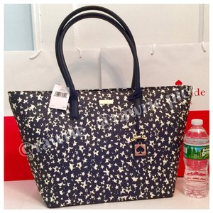 Kate Spade Stargazer Oversized Tote in Navy