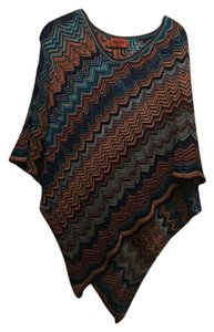 Missoni Pull On Viscose Cotton Cape