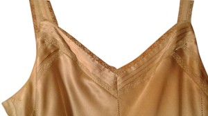 Ann Taylor Silk Lace Top Nude