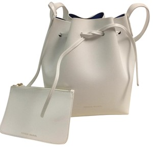 Mansur Gavriel Saffiano Leather Shoulder Bag
