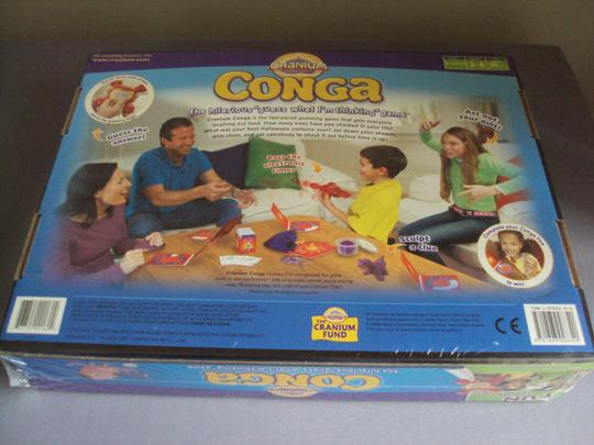 Other Conga Board Game New In Box Image 1