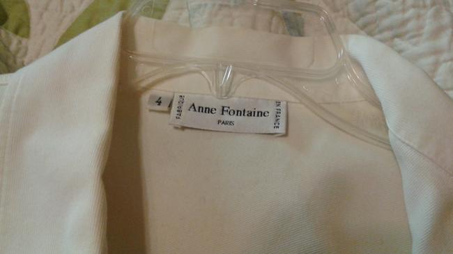 Anne Fontaine Sheer Top white Image 2