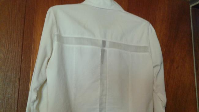 Anne Fontaine Sheer Top white Image 6