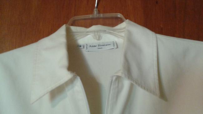 Anne Fontaine Sheer Top white Image 9