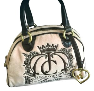 Juicy Couture Satchel Velour Under $50 Under $100 Shoulder Bag