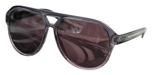 Dior NEW Dior Blacktie 147/S Gray Transparent Oversized Aviator Sunglasses