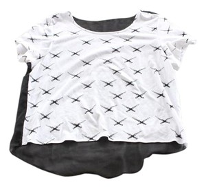 Urban Outfitters Sheer Uo Top White