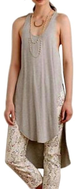 Anthropologie Vented Sides Soft Stretchy Fabric Use As Swim Cover Up Versatile Flowy Breezy Tunic Image 0