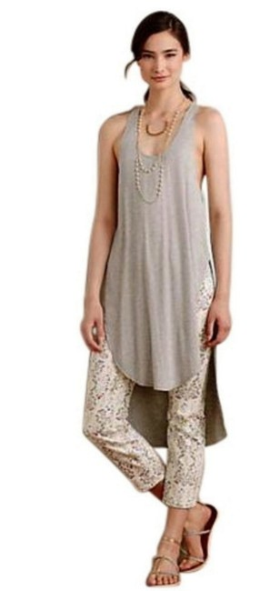 Anthropologie Vented Sides Soft Stretchy Fabric Use As Swim Cover Up Versatile Flowy Breezy Tunic Image 2