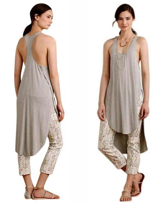 Anthropologie Vented Sides Soft Stretchy Fabric Use As Swim Cover Up Versatile Flowy Breezy Tunic Image 4