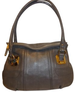 Tignanello Refurbished Leather Lined Hobo Bag