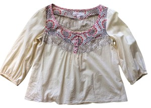 Anthropologie Top Linen