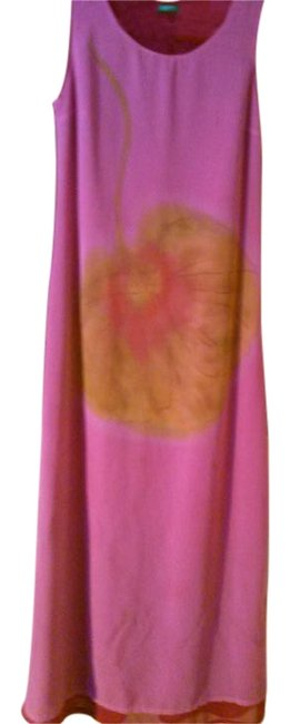 Preload https://img-static.tradesy.com/item/18745672/united-colors-of-benetton-pink-fuschia-two-long-casual-maxi-dress-size-8-m-0-1-650-650.jpg