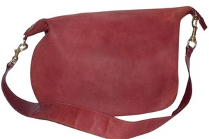 Gucci Equestrian Accents Excellent Vintage Burgundy Or Ox Blood Xl Size Style High-end Bohemian Hobo Bag