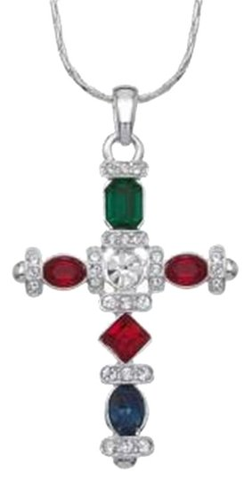 Preload https://img-static.tradesy.com/item/18746008/multi-color-cross-pendant-ships-next-day-necklace-0-3-540-540.jpg