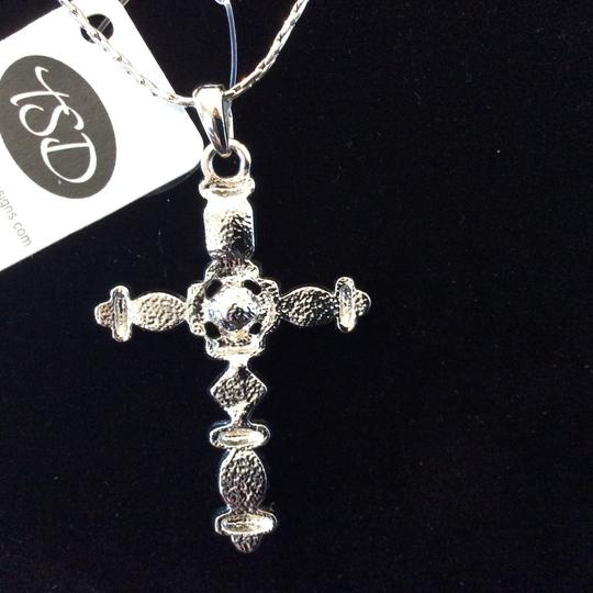 Other Multi-Color Cross Pendant Necklace [SHIPS NEXT DAY] Image 3