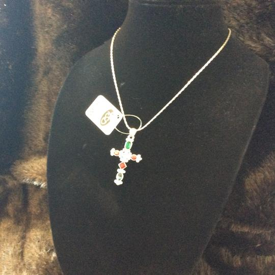Other Multi-Color Cross Pendant Necklace [SHIPS NEXT DAY] Image 5