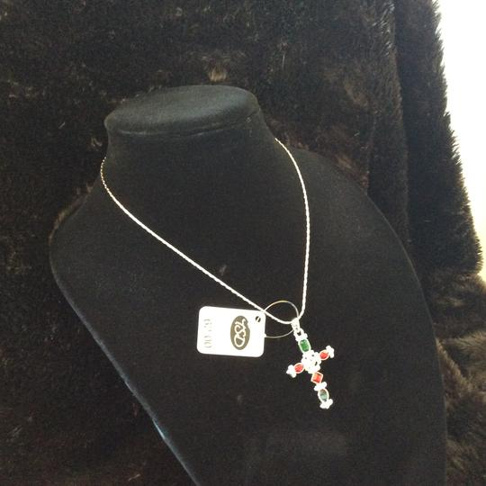 Other Multi-Color Cross Pendant Necklace [SHIPS NEXT DAY] Image 6