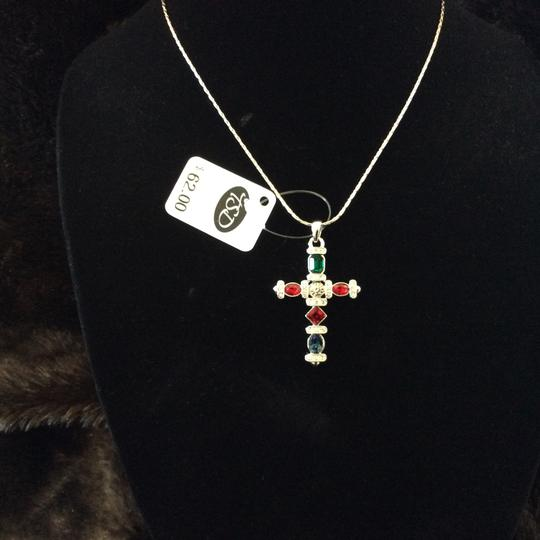 Other Multi-Color Cross Pendant Necklace [SHIPS NEXT DAY] Image 7