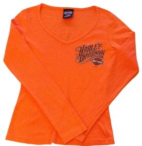 Harley Davidson T Shirt Orange