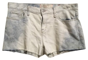Marc Jacobs Cut Off Shorts White and blue