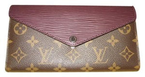 Louis Vuitton BRAND NEW Marie-Lou Long Wallet in Monogram and Epi Leather