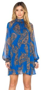 Free People short dress Cobalt Blue on Tradesy