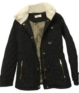 Michael Kors Quilted Military Jacket