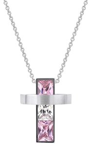 Other Halo Stainless Steel Cross Pendant Necklace [SHIPS NEXT DAY]