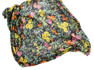 Urban Outfitters Floral Oversized Square Wrap