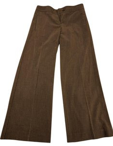 The Limited Trousers Drew Grey Wide Leg Pants Brown