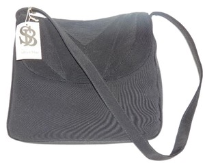 Silver Blue Modern And Chic Envelope Style 1940's Corde Fabric New With Tags Retro Rockabilly Hobo Bag