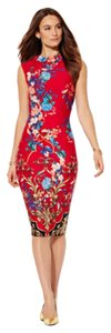 New York & Company Ny And Co Scuba Midi Dress