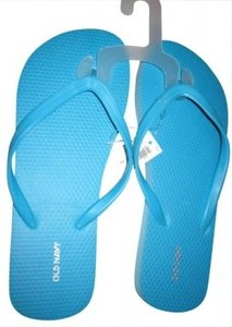 Old Navy Flip Flops BLUE Sandals
