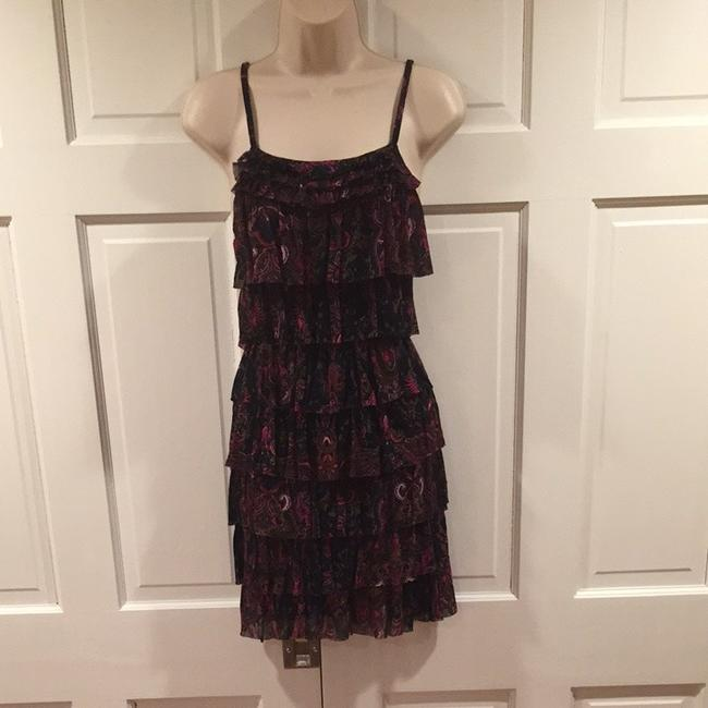 Express short dress Pink and black on Tradesy