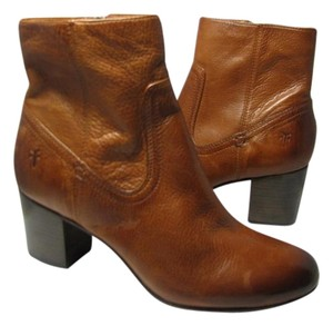Frye Stella Ankle Whisky Brown Boots