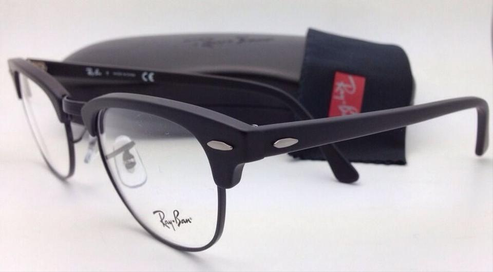 45020a44fd Ray-Ban Rb 5154 2077 49-21 Matte Black New Clubmaster Eyeglasses - Tradesy  Ray-Ban 2176 Clubmaster Folding ...