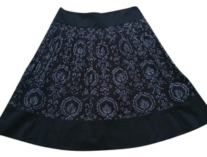 Ann Taylor LOFT Skirt Black gray
