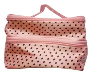 Other Pink and Brown Polka Dot cosmetic bag