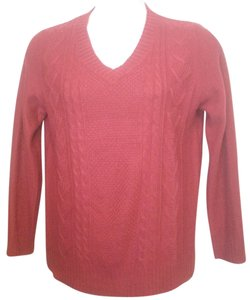 Faded Glory Longsleeve Acrylic Cable Knit Holiday Sweater