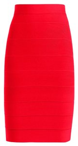 BCBGMAXAZRIA Bcbg Leger Chambra Skirt Red Berry