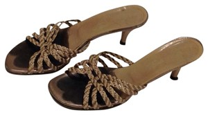 Via Spiga Pewter Sandals