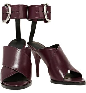 Alexander Wang Oxblood Sandals