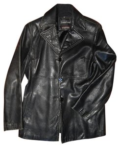 Andrew Marc Leather Coat Leather Jacket
