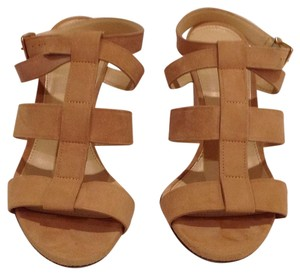 J.Crew Ashen Brown Wedges