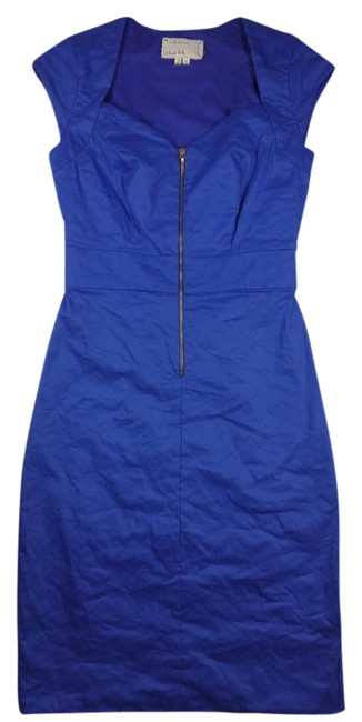 Preload https://img-static.tradesy.com/item/18750265/royal-blue-knee-length-workoffice-dress-size-6-s-0-1-650-650.jpg